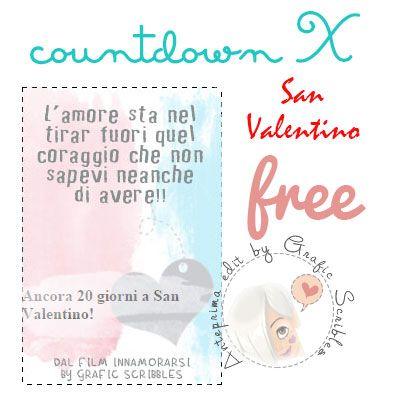 Free Countdoown per San Valentino dedicato ad un bel film http://graficscribbles.blogspot.it/2015/01/countdown-contoallarovescia-sanvalentino-ricorrenze-amore-innamorati.html #contdown #contoallarovescia #SanValentino #amore