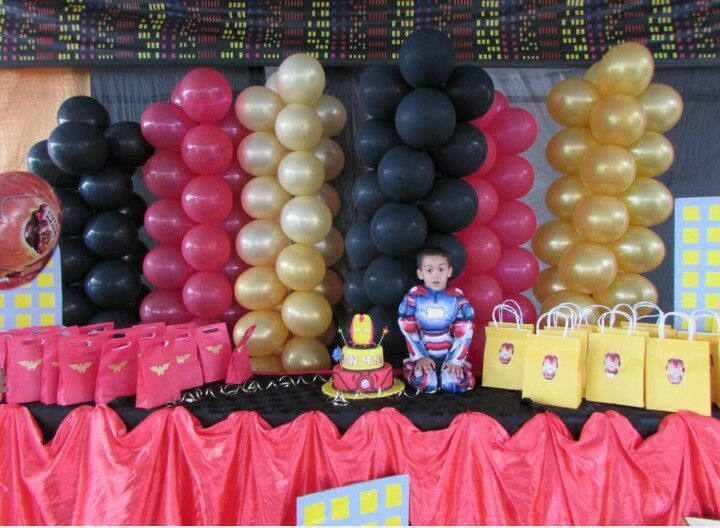 Party Decoration, Iron man!