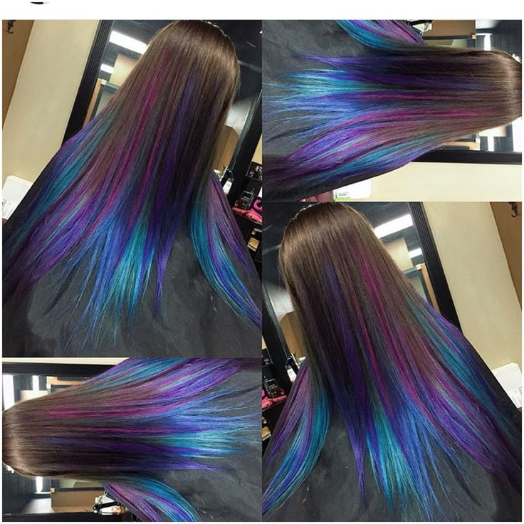 Peacock hair color                                                       …