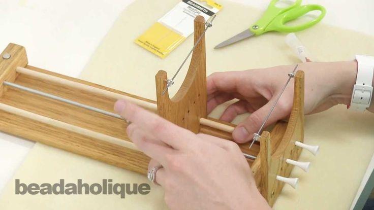 How to Use the Ricks Beading Loom ~ Seed Bead Tutorials