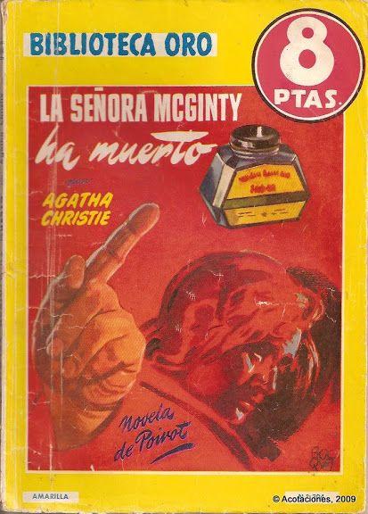La Señora McGinty Ha Muerto. Molino. Biblioteca Oro (2). 304. 1952