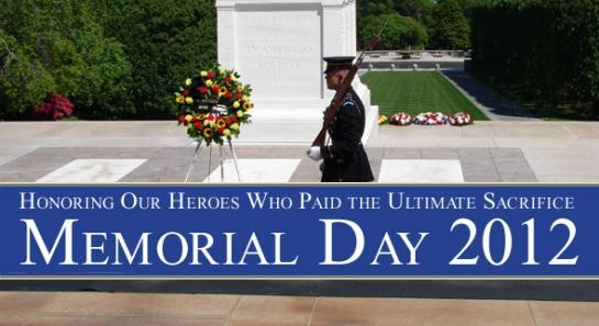 Memorial Day... a day of remembrance.