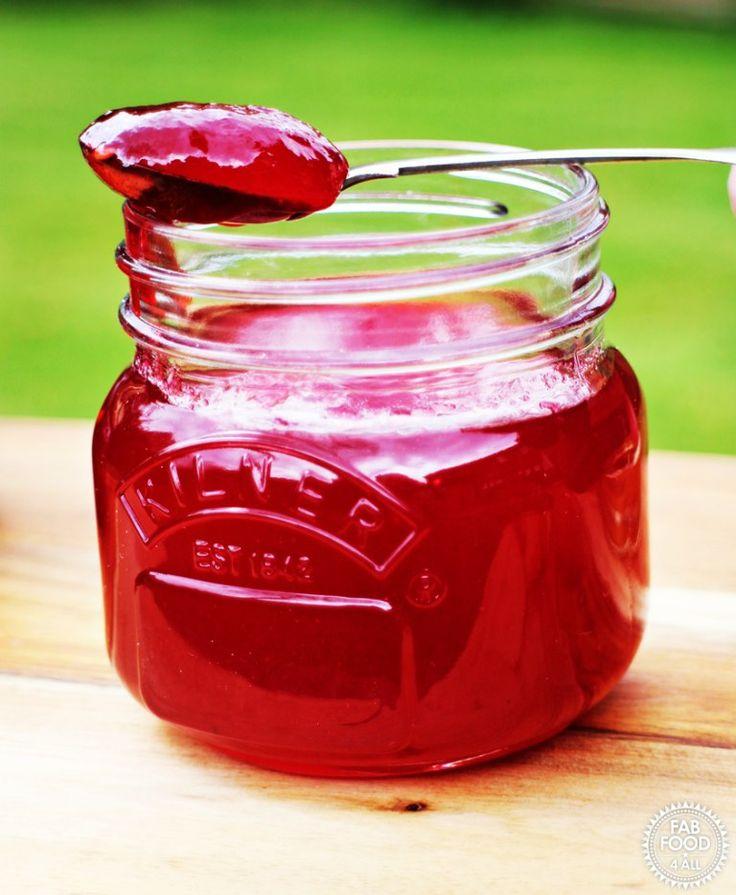 Easy Seedless Raspberry Jam