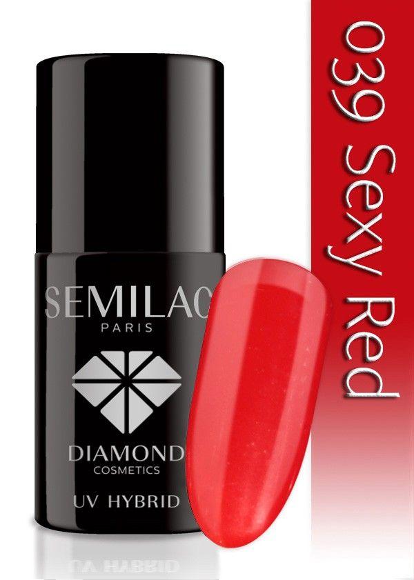 Semilac Lakier Hybrydowy 039 Sexy Red 7ml
