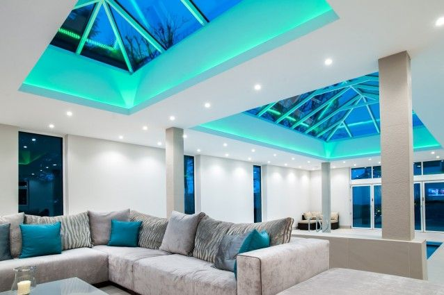 light tape roof lantern - Google Search