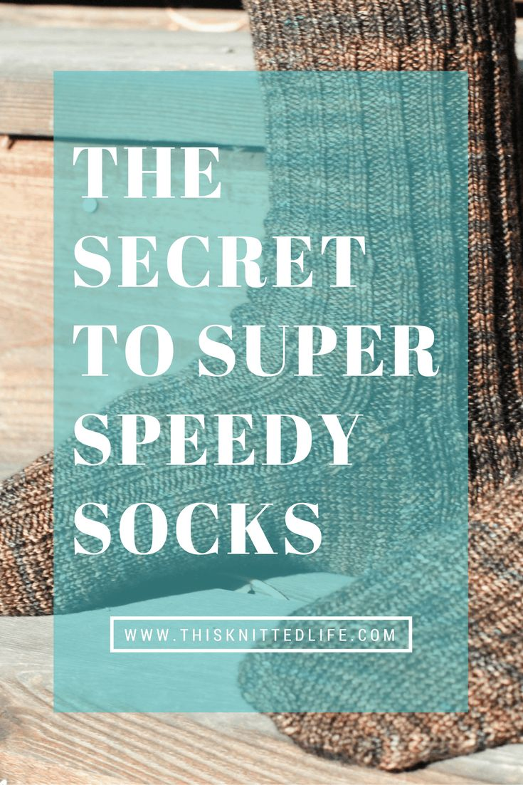 52 best easy sock knitting patterns images on pinterest baby the secret to super speedy and easy sock knitting bankloansurffo Image collections