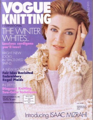 Vogue Knitting 97-98 - My Tricot - Picasa Webalbumok