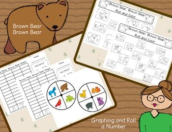 Brown Bear Brown Bear Freebies: Math, Ideas, School, Brown Bear Activities, Bear Freebies, Brown Bears, Bear Colors