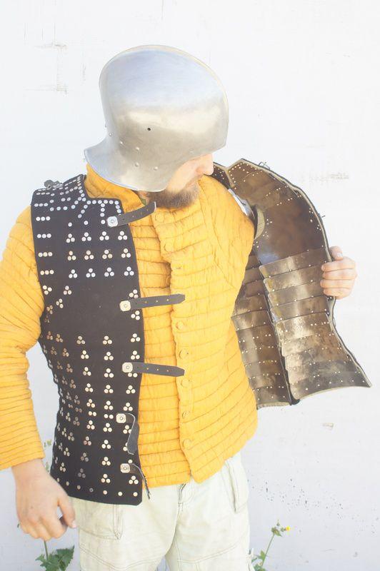 Brigandina - Siglo XV (reconstrucción).