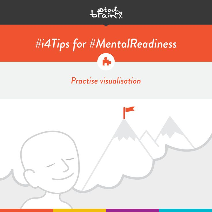 #i4tips for developing #MentalReadiness = practise visualisation! #i4Model http://www.aboutmybrain.com/i4tips