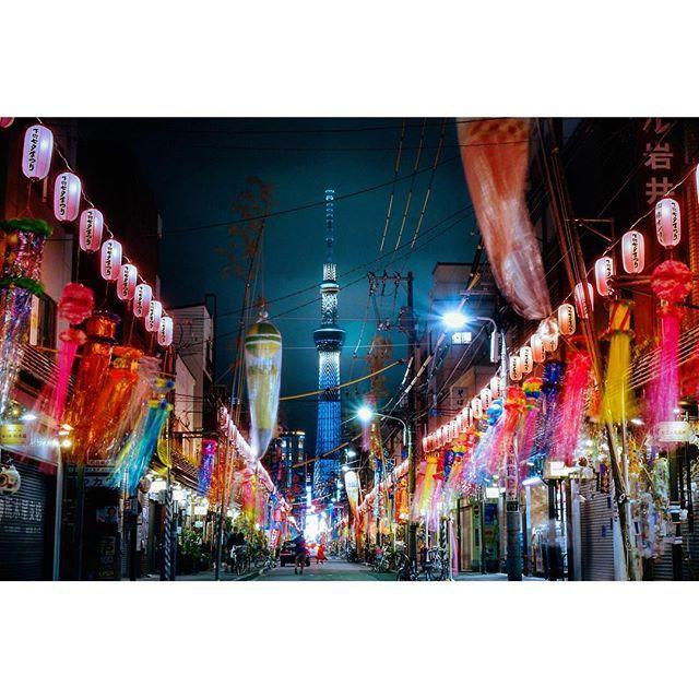 七夕 夜景 東京