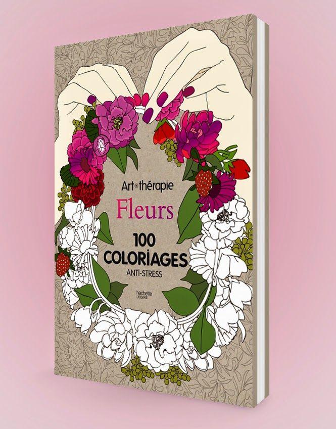 Connaissez vous l'Art-thérapie ? Avec les nouveaux livres de coloriage « anti-stress » richement illustrés par Lidia Kostanek. laissez libre cours à votre créativité.Editions Hachette Loisirs.