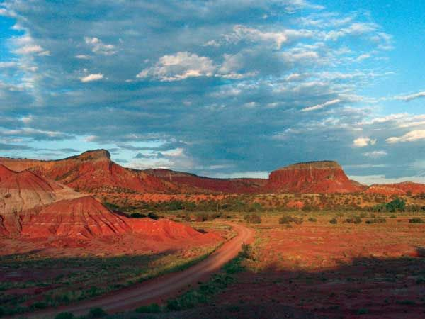 Abiquiu, a tiny town on a bend of the Rio Chama, most remembered as the home of artist Georgia O'Keeffe