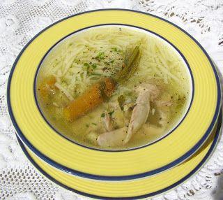 W Mojej Kuchni Lubię.. : szybkowar-rosół z kury wiejskiej z młodą włoszczyz...