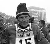 Jean Claude Killy, 1968 Olympics in Grenoble, France. Saw him win 2 of his Gold medals!