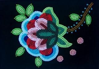 Metis+beadwork