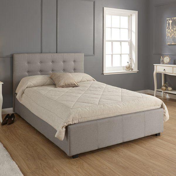 Aarav Upholstered Ottoman Bed Frame In 2020 Ottoman Bed Ottoman