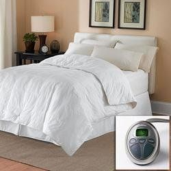 $120.00 Amazon.com: Sunbeam All Season KING Premium Heated Mattress Pad with Two Heating Digital Controllers- 250 Thread Count 100% Cotton: Home & Kitchen