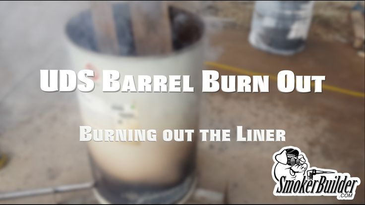 How to remove the liner on a 55 Gallon Drum for UDS Smoker