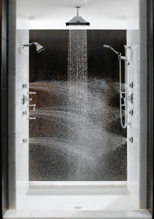 Amazing shower - would this be just as good for short people? The shower head looks a mile high!