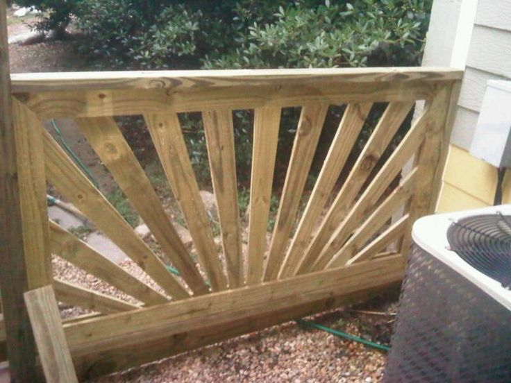 Hand Railing For Decks Sunburst Hand Rails Step