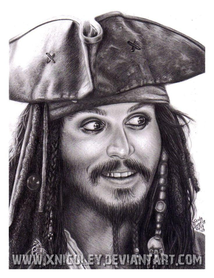 Картинки пирата карандашом