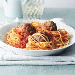 Spaghetti mit Fleischklößchen (Rezept Cynthia Barcomi)