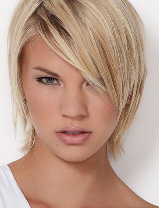 Krótkie fryzury z cienkich włosów część I – Modne fryzury w 2017 dla każdego