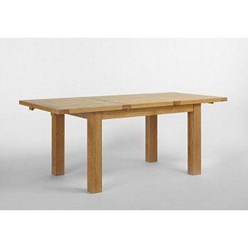 Santana Blonde Oak Dining Extension Table 140-200cm