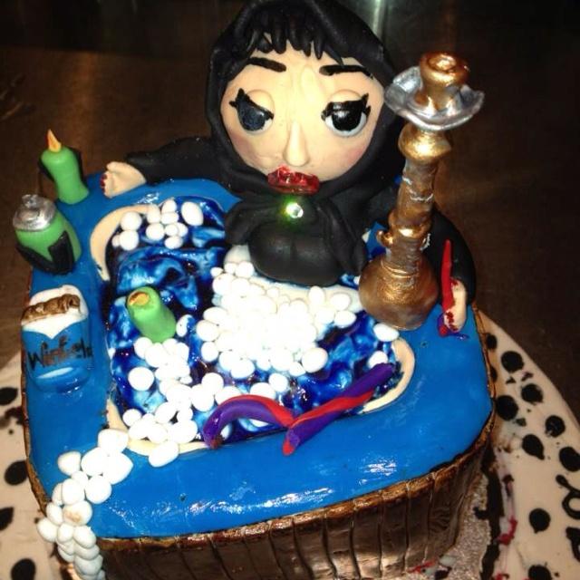 A real Lebanese cake!! Mmm yum :)