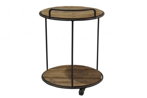 Wilbur Round Side Table. A Block and Chisel Product.