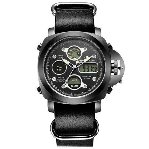 top brand luxury dual display mens watches waterproof led digital top brand luxury dual display mens watches waterproof led digital military army men sports watch