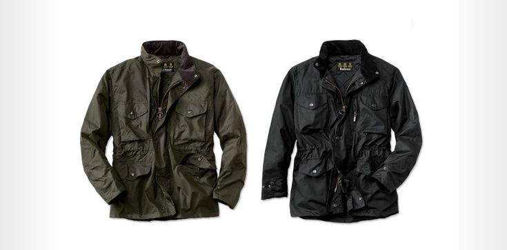 Barbour Sapper Jacket - waxed canvas jacket