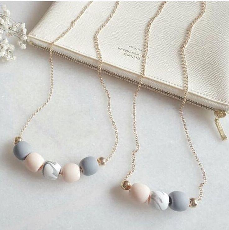 Image of Marble cloud - 5 bead, long lengh