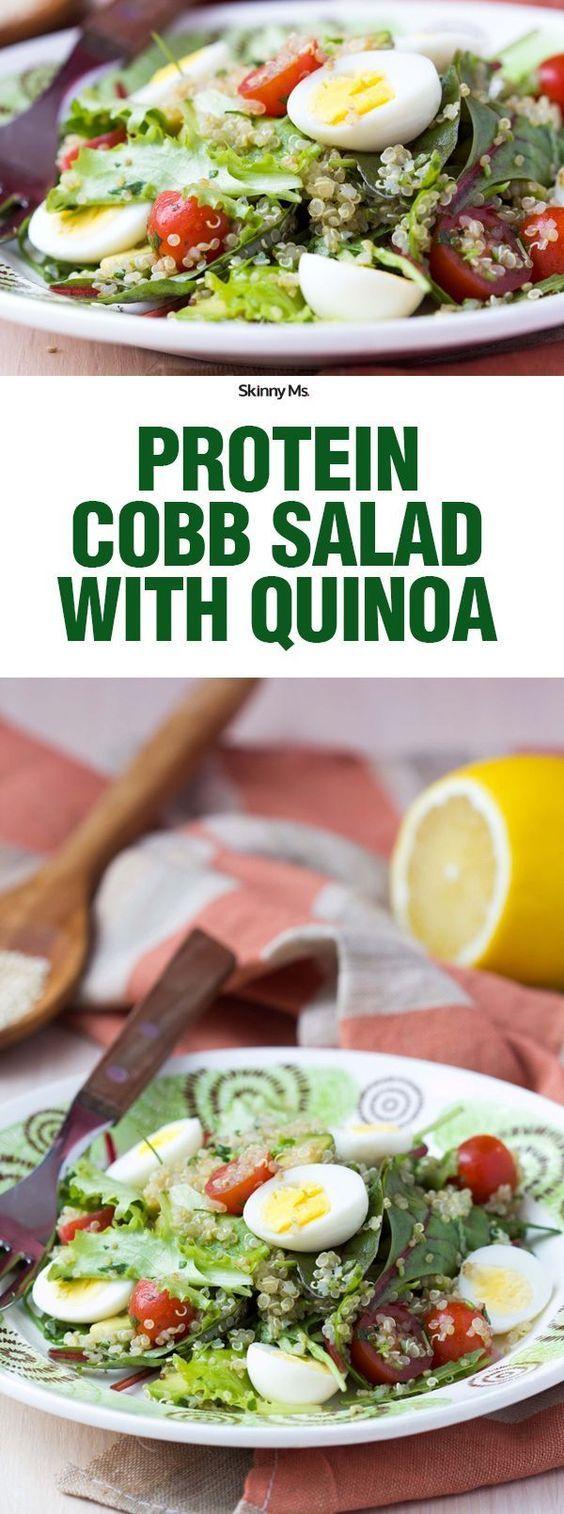 Protein Cobb Salad with Quinoa