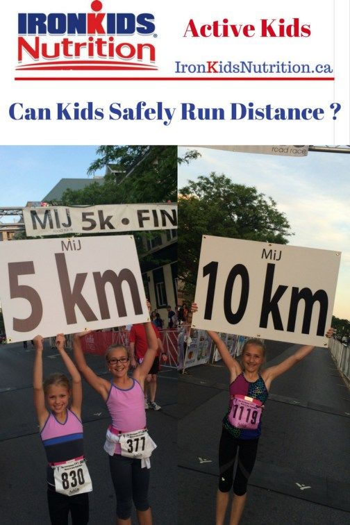 Can Kids Safely Run Distance ?