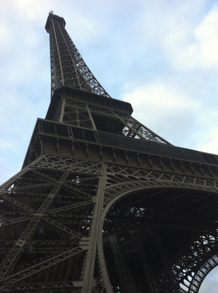 Under the Eiffel tower (France)
