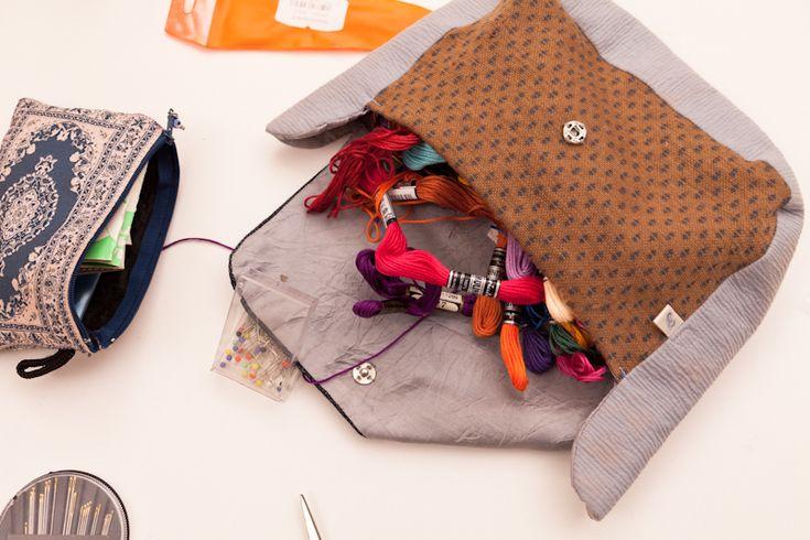Räubersachen | Unser erster Stopfkurs | ökologische Kleidung für Babys mieten