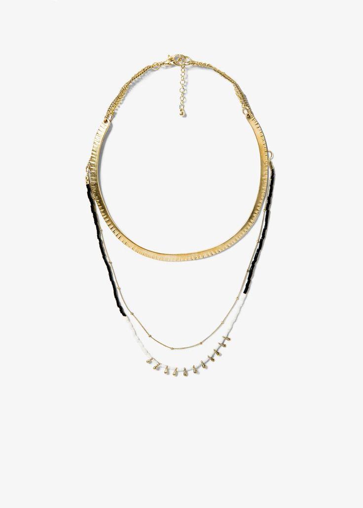Ethnic necklace set - Jewellery for Women | MANGO