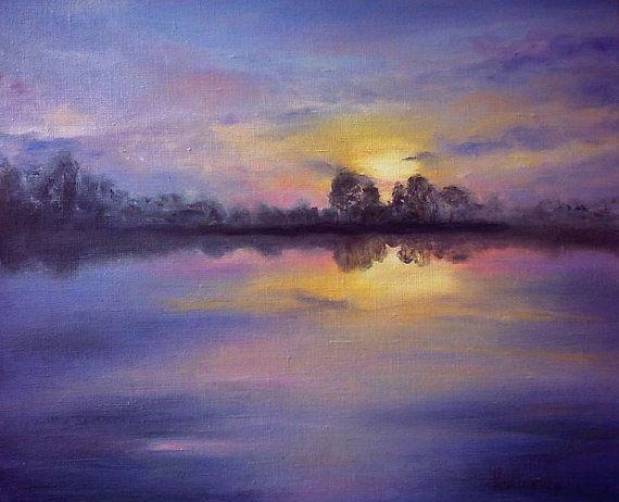 Evening tranquility by kokorevicaieva on Etsy