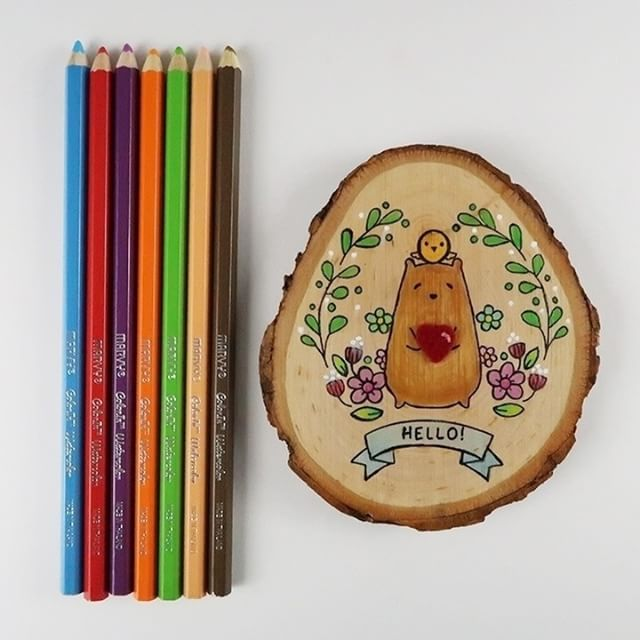 One Of My Favorite Ways To Use Walnuthollow Wood Slices Is With