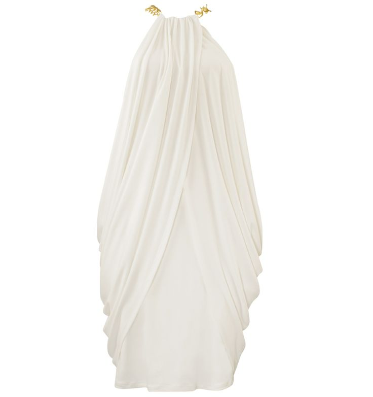 Draped Halterneck Dress