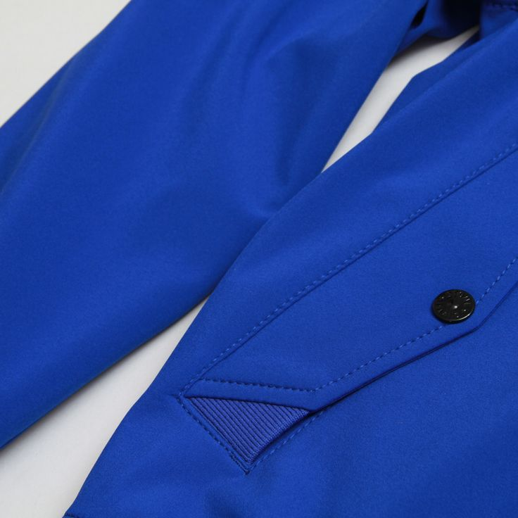 CNCPTS / Stone Island Zip Up Hooded Jacket (Blue)