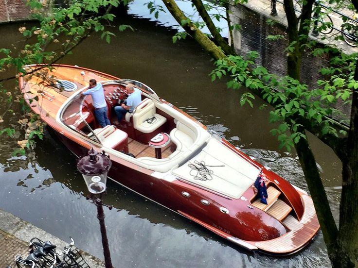 Mahony wooden boat