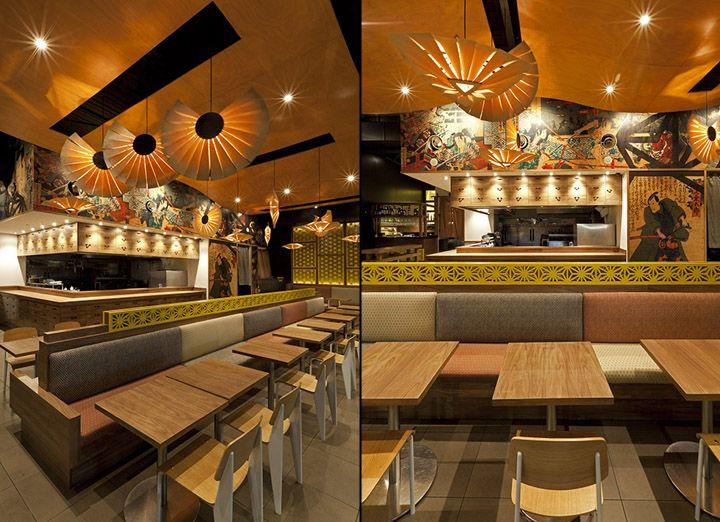 Musashi izakaya restaurant by vie studio sydney