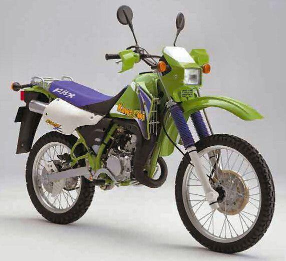 kawasaki kmx 125 1999 #bikes #motorbikes #motorcycles #motos #motocicletas