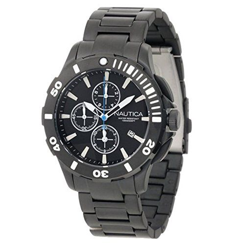 Men's Wrist Watches - Nautica Mens N23536G Bfd 101 Dive Style Chrono Watch >>> Find out more about the great product at the image link. (This is an Amazon affiliate link)