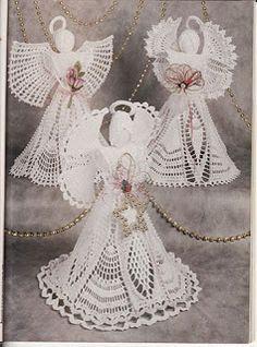 Amigurumis Amorosos: Más angelitos crochet - patrones en castellano   S NÁVODEM