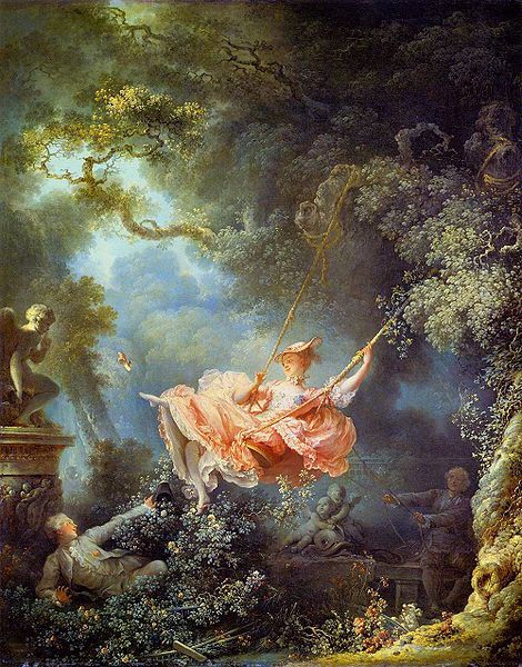The Swing - Jean-Honore Fragonard, 1767