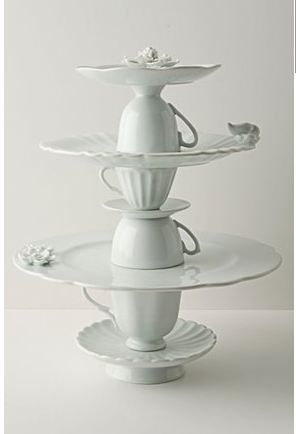 海外発の簡単DIY♡可愛いケーキスタンドは、実はおうちにあるもの3つで手作りできるらしい!にて紹介している画像